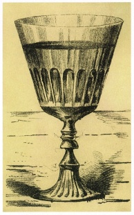 Anonymous, Hidden Faces and Goblet, 1880