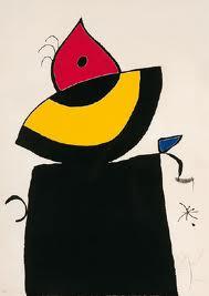 Blatt 5 by Joan Miro