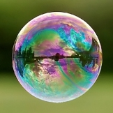 Reflections in a Bubble by istargazer