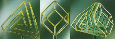 Guido Moretti, Cube to Non-Cube, 1997