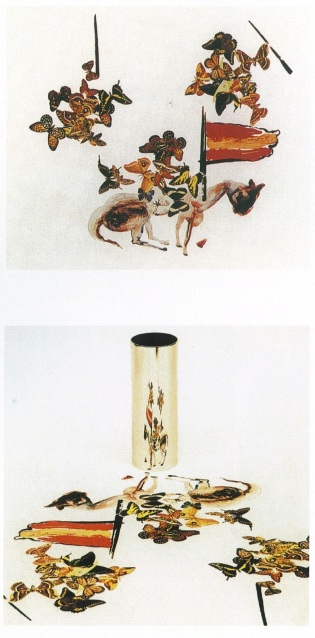 Salvador Dali, Mathew colored lithograph with cylinder, 1974