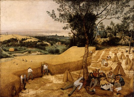 The Harvesters by Pieter Brueghel the Elder, 1565