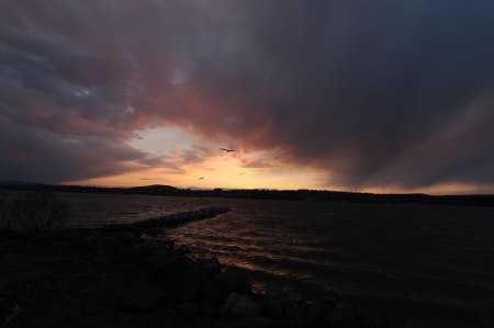 End of Day in Beacon, NY by Keri Valentine