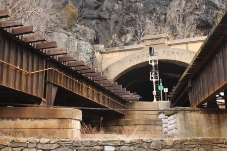 Harpers Ferry Train Tunnel by Keri Valentine